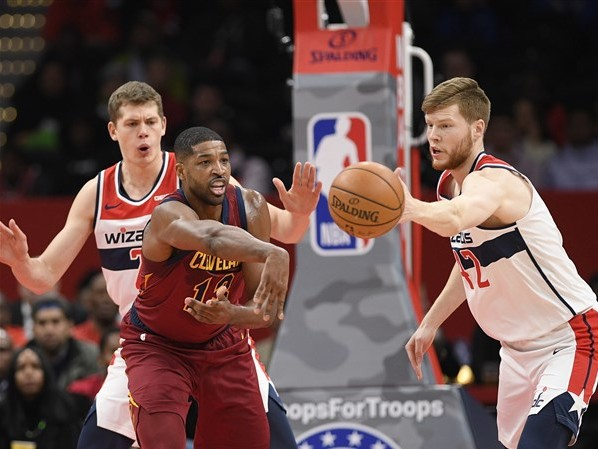 Thompson scores 21 to lift Cavaliers over Wizards, 113-100
