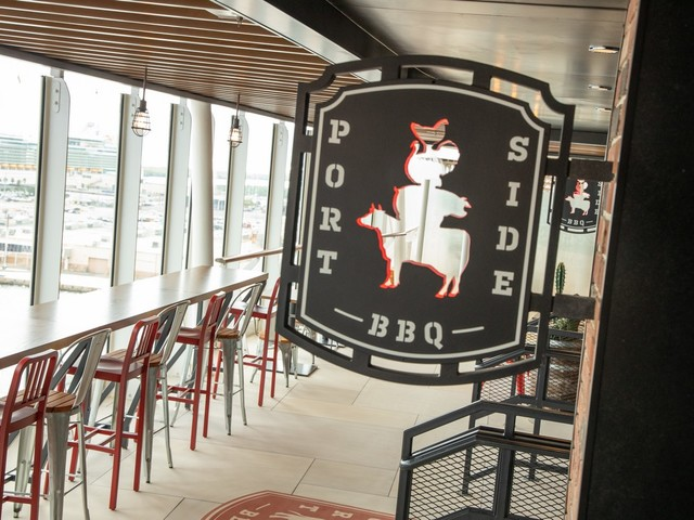 Portside BBQ restaurant review on Oasis of the Seas