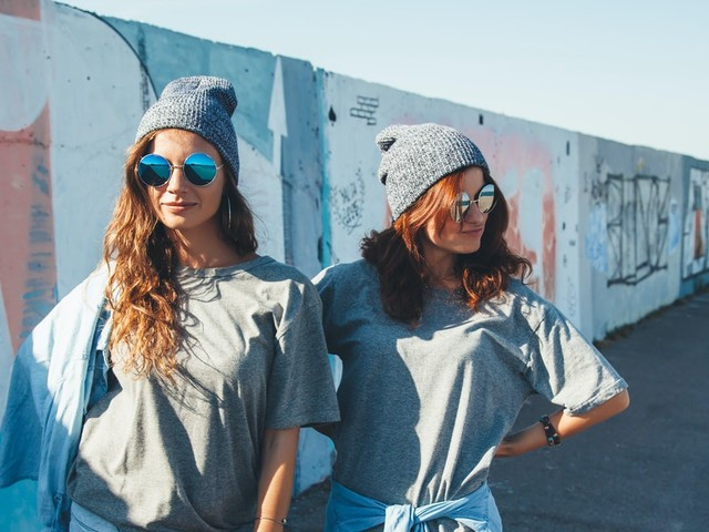 Twinning Captions For Friends To Share Their Matching Outfits
