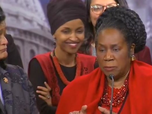 Watch As 'PTSD-Stricken' Ilhan Omar Jokes With Squadmates During Talk About US Casualties In Iraq