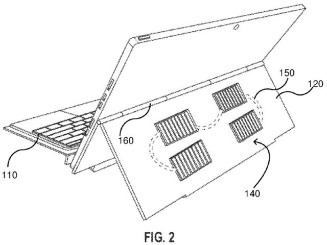 Microsoft's Next Surface Pro Could Be Powered By Solar Energy