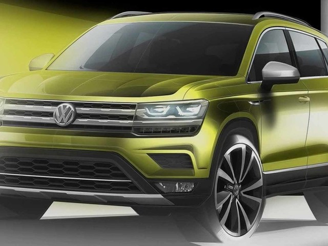 VW Teases a New Global SUV and It's basically a T-Roc That's Not for Europe