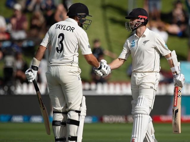 1st Test Day 2: Williamson-Taylor Stand Puts New Zealand In Driver's Seat