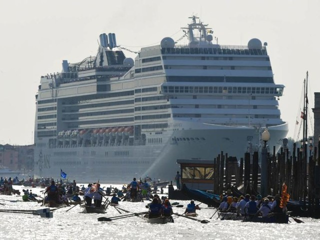 Are cruise ships fueling overtourism?