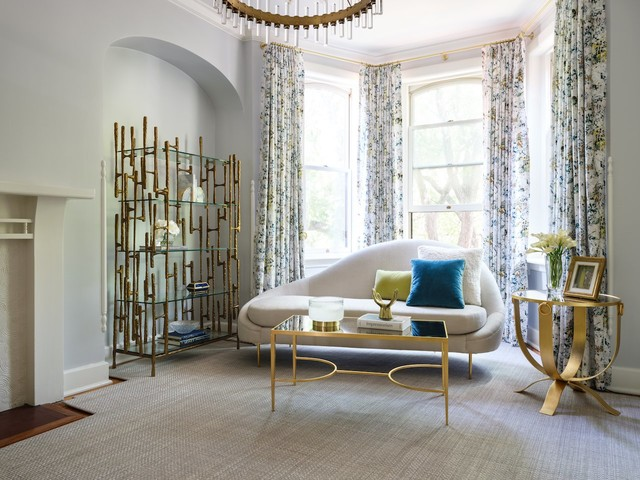 Space of the Week: A Modern-Glam Townhouse in the West End