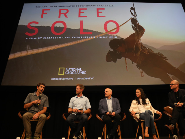 "'Free Solo' Star & Docu's Creative Team On Committing To ""The Whole Process,"" Gravity & Surprises"
