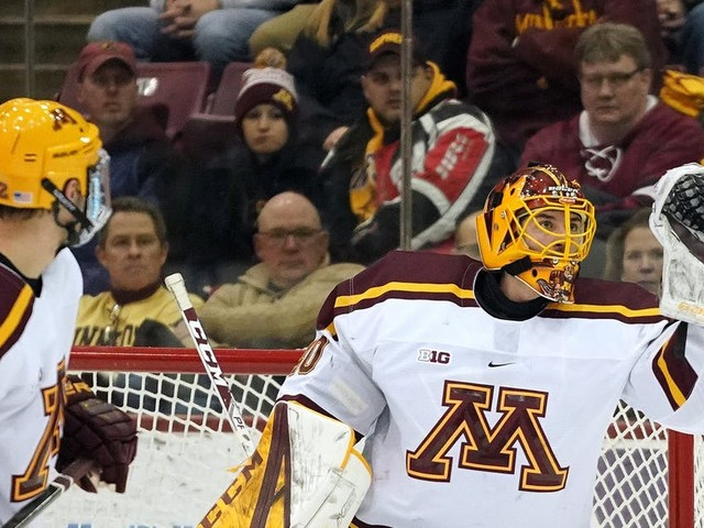 Mat Robson leaves Gophers for Wild