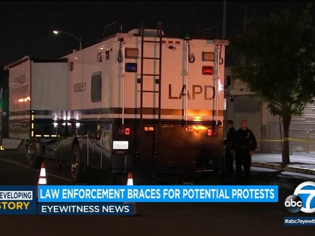 LAPD stepping up patrols in 'critical spots' around region amid potential inauguration protests