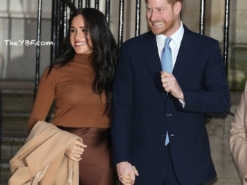 Prince Harry & Meghan - 'We're Stepping Back From Royal Duties & Moving To North America!' (The Queen Reacts, 'Not So Fast!')