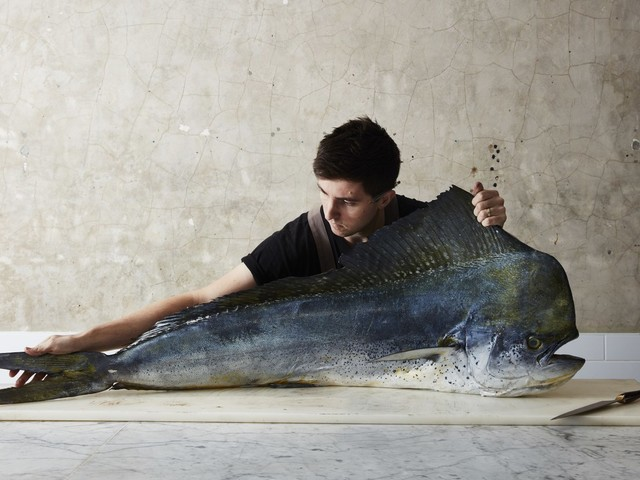 Famed Australian chef on cooking 'fin-to-fin'