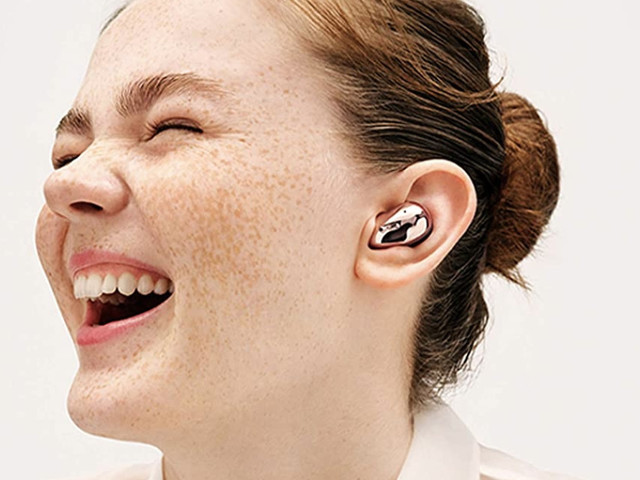 The bean-shaped Samsung Galaxy Buds Live are over $40 off