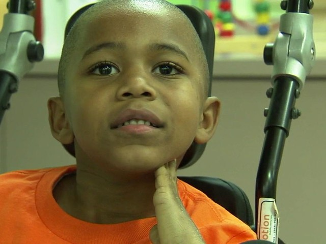 Downey rehab center helps paralyzed 6-year-old be a kid again