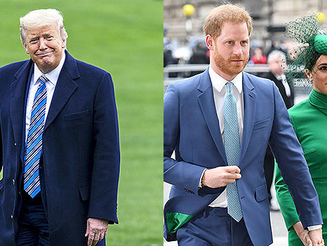 Donald Trump Disses Meghan Markle & Prince Harry: 'US Won't Pay For Their Security Protection'
