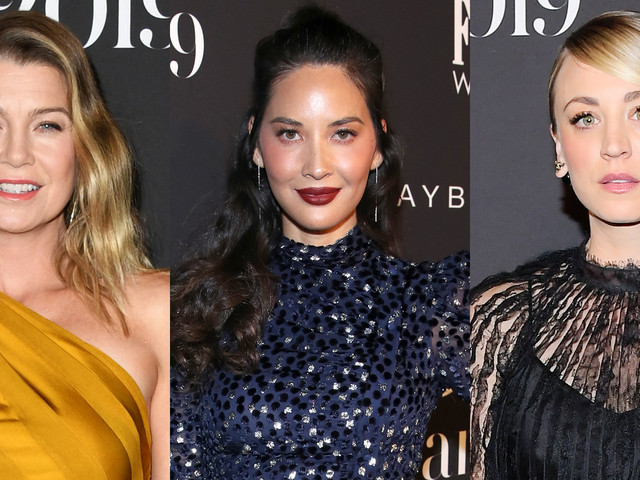 Ellen Pompeo, Olivia Munn, & Kaley Cuoco Rock the Black Carpet at InStyle Awards 2019