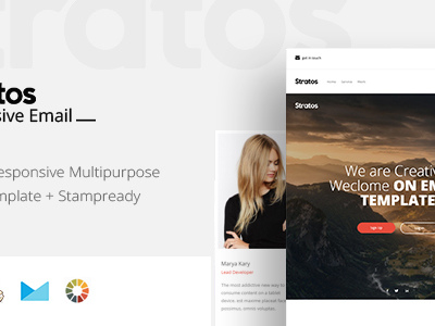 Straros - Responsive Email + StampReady Builder (Email Templates)