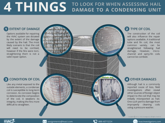 The Effect of Corrosion on Repairing Hail Damaged HVAC Coils