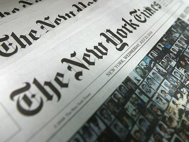 New York Times reporter deletes tweets suggesting that Trump supporters 'enemies of the state'