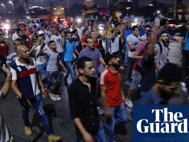 Mohamed Ali: Egyptian exile who sparked protests in shock at mass arrests