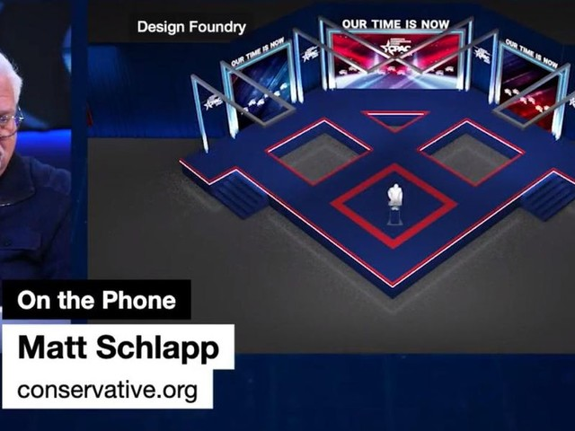 'We'll take the hits, but we WON'T let people lie': CPAC organizer hints at lawsuit over 'Nazi' stage design claims
