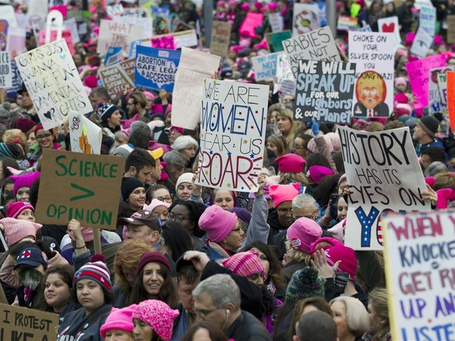 Feds Photoshop Pic of Women's March