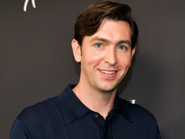 'Succession' star Nicholas Braun becomes Fashion Week favorite