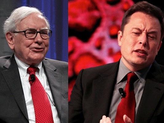 Elon Musk is now officially richer than Warren Buffett after Tesla's stock hits an all-time high (TSLA, BRKA)