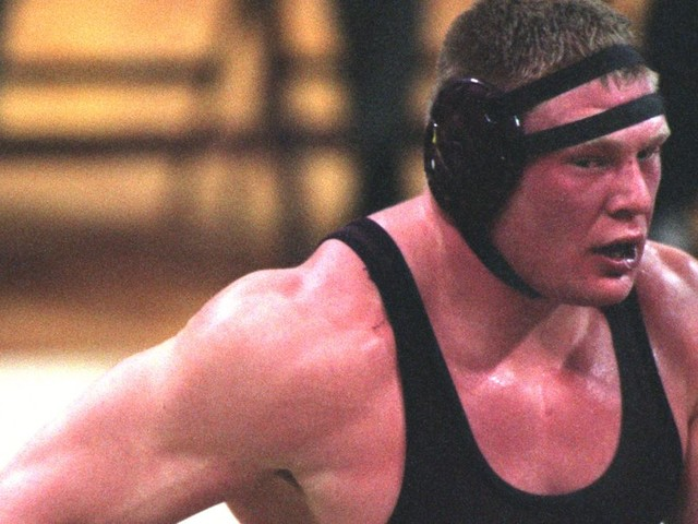 Video: Lesnar returns to Minnesota mats, trains with NCAA star