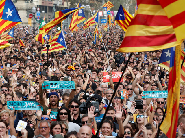 Catalan Parliament Votes To Secede From Spain