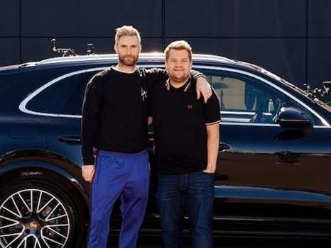 Adam Levine Takes On Carpool Karaoke and Causes a Traffic Hazard