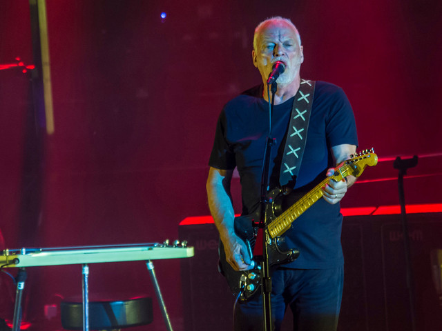 David Gilmour's guitar auction nets $21M for climate change charity