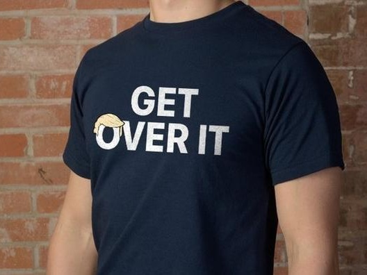 """Get Over It"": Trump Campaign Mocks Outrage Over Mulvaney Comments With T-Shirts"