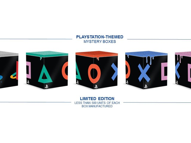 PlayStation at San Diego Comic-Con: PS Gear Store Collectible Mystery Boxes Revealed