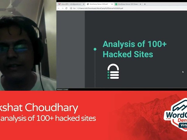 Akshat Choudhary: An Analysis of 100+ Hacked Sites