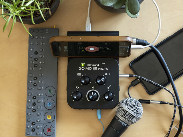 Roland's Go:Mixer Pro-X is a flexible multitrack studio in your pocket