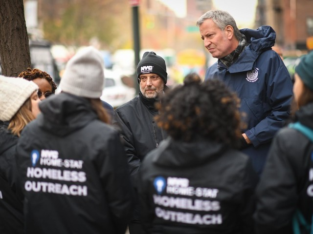 De Blasio Enlists City Workers to Reduce Homelessness
