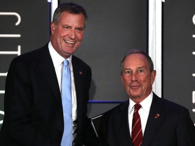 Failed Candidate De Blasio Slams Bloomberg Bid