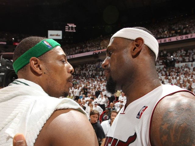 Paul Pierce didn't like working at ESPN because they talked about LeBron too much