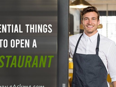 7 Essential Things You Need to Open a Restaurant