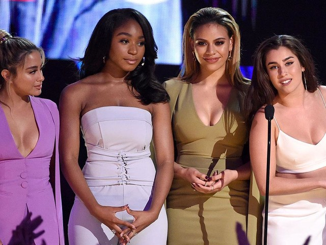 Fifth Harmony Rocks the Teen Choice Awards Red Carpet & Urge Their Fans to 'Keep Spreading Love'