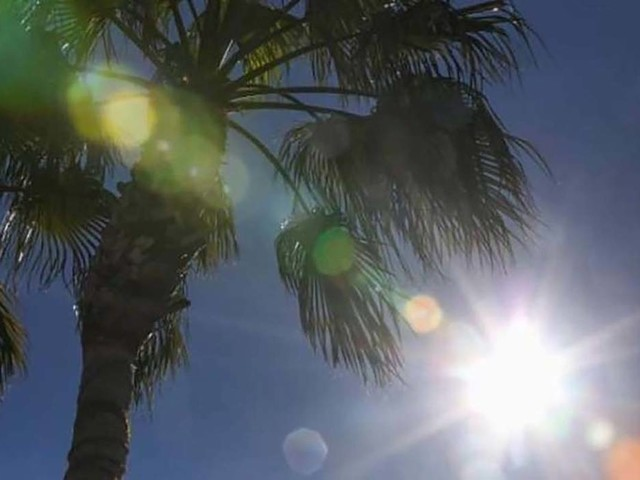 High temps stay in Las Vegas Valley, but chance of rain this week