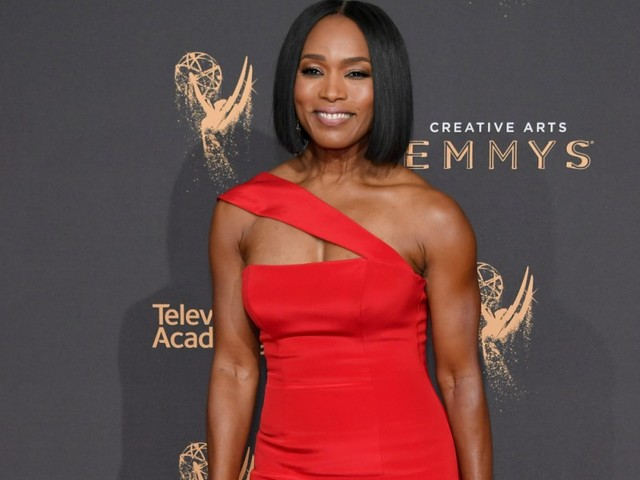 Angela Bassett Was Serving Serious Back And Arm Goals This Weekend