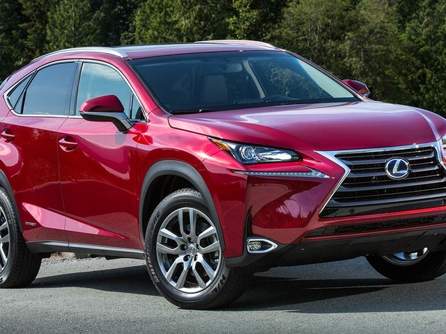Lexus NX is a Top Safety Pick +