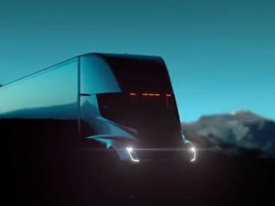 "Watch Live: Tesla Unveils Its ""Mind-Blowing"" Semi-Truck"