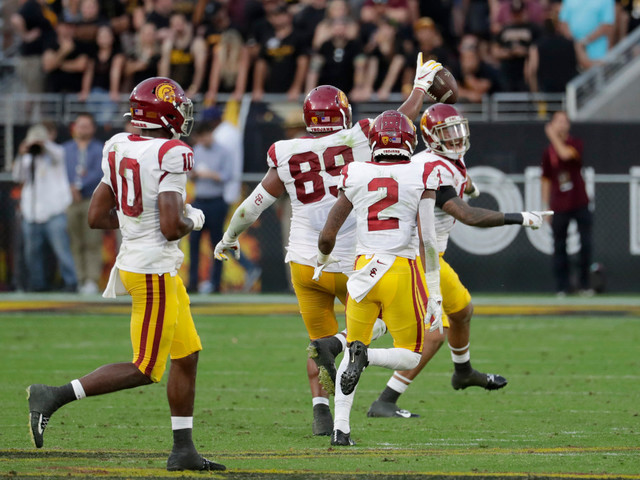 USC defensive end Christian Rector ejected from Cal game for targeting