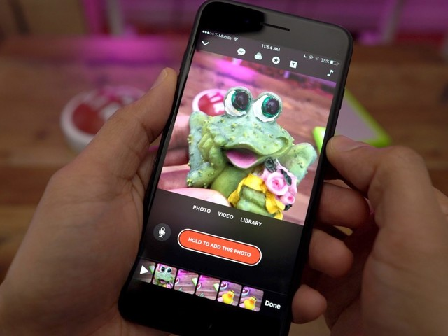 Apple's Clips app upgraded with retro camcorder filter, new stickers, Live Titles, ClassKit support, more