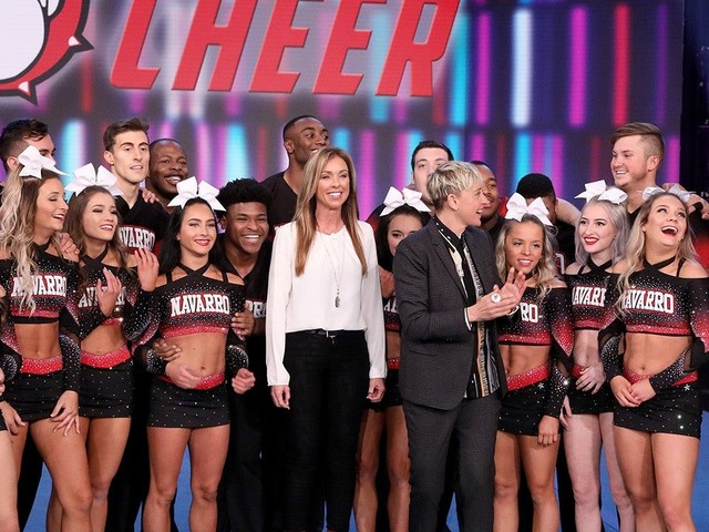 'Cheer': Navarro Squad Favorites Lexi, Jerry, Gabi and More Reunite for a New Routine on 'Ellen'