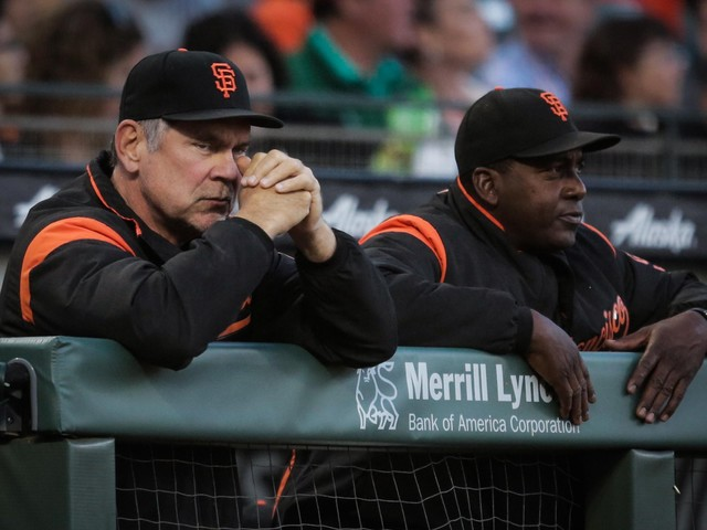 Hensley Meulens is Giants' manager for a day with Bruce Bochy in Cooperstown