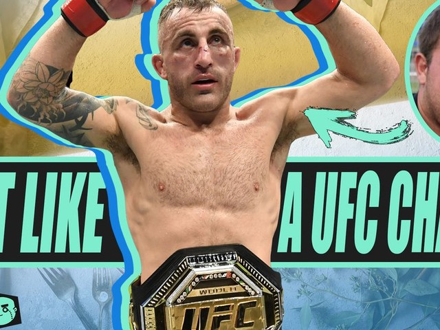 Heading into UFC 266 watch how to diet and eat like UFC Champion Alexander Volkanovski