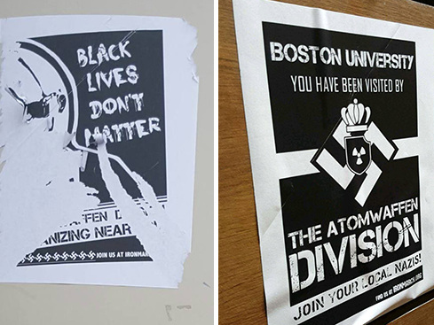 Hate incidents still on the rise on college campuses