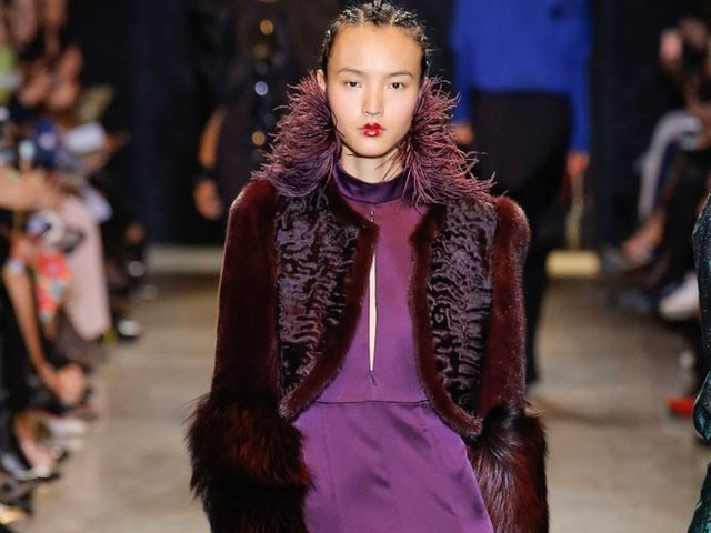 Spotted on the catwalk: Pantone x Prince Purple